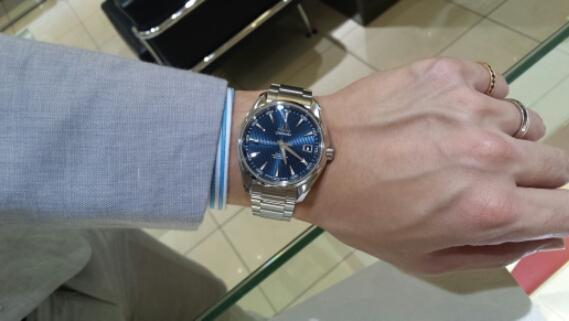 new product 381e6 b2831 オメガ シーマスター アクアテラ | ジュエリーパリ:結婚指輪 ...