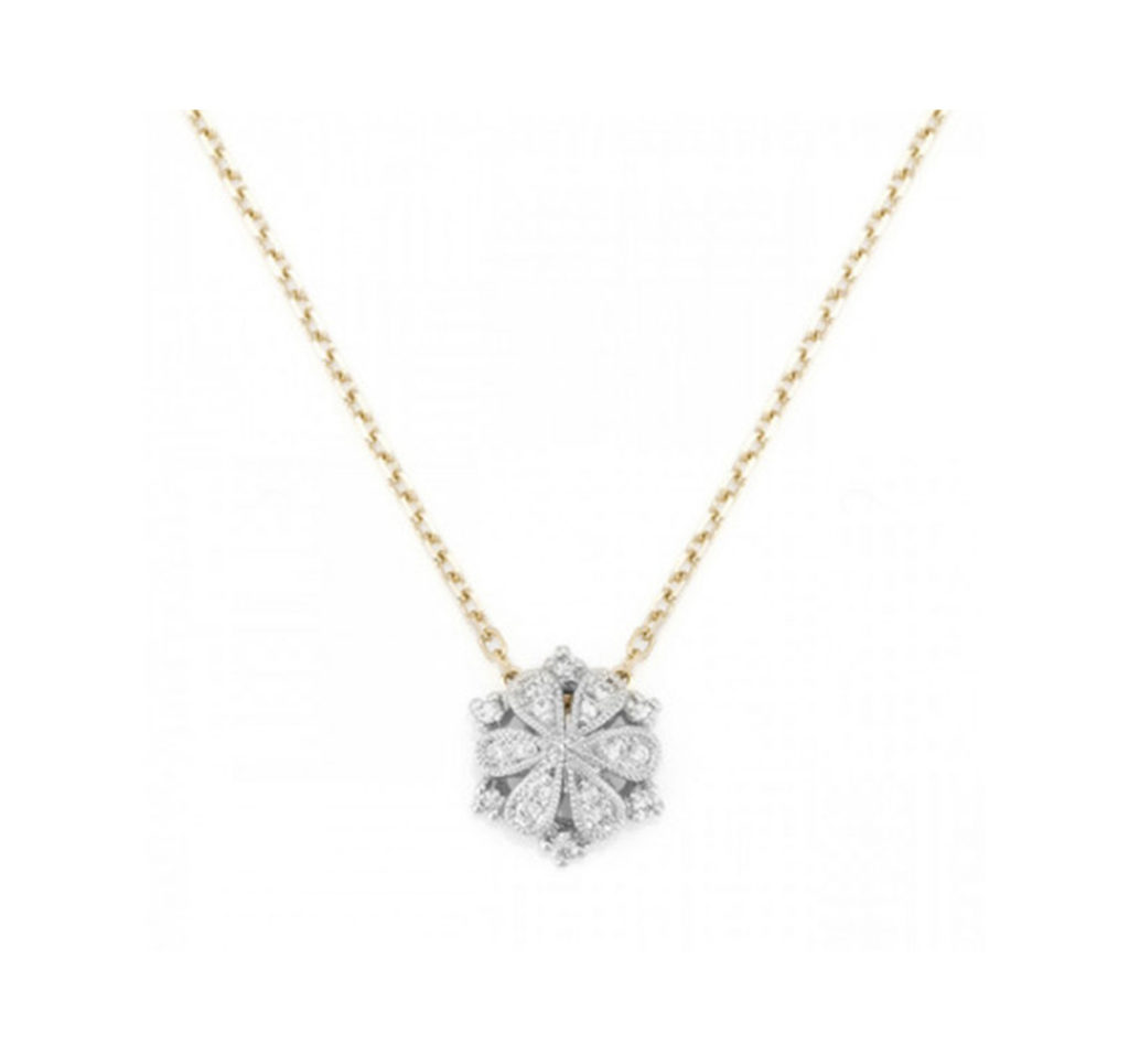 【ジオメトリー】ダイヤモンドネックレス