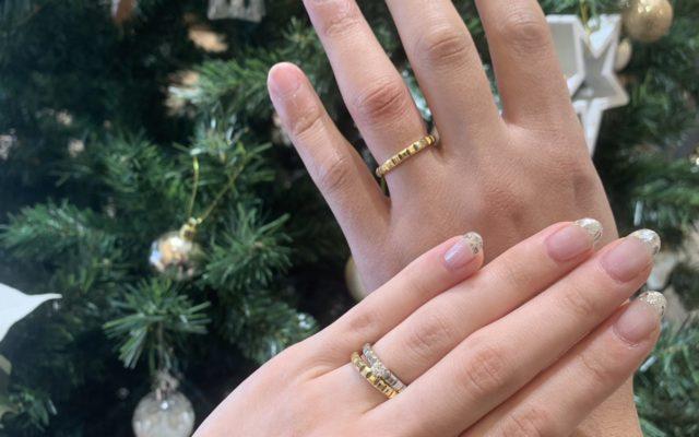 婚約指輪をクリスマスに…♡