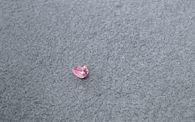 ピンクダイヤモンド入荷