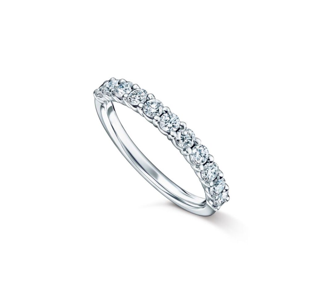 BRILLANTE Half Eternity 26 Ring