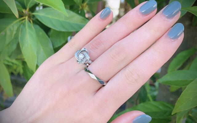 BOUCHERON人気婚約指輪入荷致しました♡